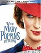 Mary Poppins Returns (Blu-ray + DVD + Digital Copy) (US Import ohne dt. Ton) Blu-ray