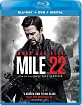 Mile 22 (Blu-ray + DVD + Digital Copy) (US Import ohne dt. Ton) Blu-ray