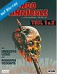 Mondo Cannibale (1972) + Mondo Cannibale 2 (Limited Leatherbook 2.0 Edition) (2 Blu-ray + 2 DVD) Blu-ray