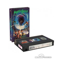 Monster Busters Vhs Retro Edition Cover A Blu Ray Film