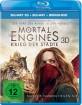 Mortal Engines: Krieg der Städte 3D (Blu-ray 3D + Blu-ray + Bonus DVD) Blu-ray