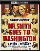 Mr. Smith Goes to Washington (1939) 4K (4K UHD + Blu-ray + Digital Copy) (US Import) Blu-ray