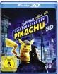 Pokémon: Meisterdetektiv Pikachu 3D (Blu-ray 3D) Blu-ray