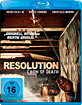 Resolution - Cabin of Death Blu-ray
