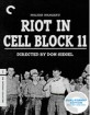 Riot in Cell Block 11 - Criterion Collection (Blu-ray + DVD) (Region A - US Import ohne dt. Ton) Blu-ray