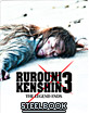 Rurouni Kenshin 3: The Legend Ends (Limited Edition Steelbook (UK Import ohne dt. Ton) Blu-ray
