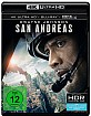 San Andreas (2015) 4K (4K UHD + Blu-ray + UV Copy) Blu-ray
