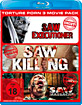 Saw Executioner + Saw Killing + Saw Massacre 2 (Torture Porn 3 Movie Pack) Blu-ray