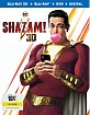 Shazam! (2019) 3D (Blu-ray 3D + Blu-ray + DVD + Digital Copy) (US Import ohne dt. Ton) Blu-ray