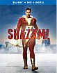 Shazam! (2019) (Blu-ray + DVD + Digital Copy) (US Import ohne dt. Ton) Blu-ray