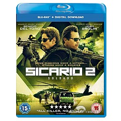 Sicario 2 Soldado Blu Ray Digital Copy Uk Import Ohne