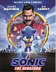 Sonic The Hedgehog (Blu-ray + DVD + Digital Copy) (US Import ohne dt. Ton) Blu-ray
