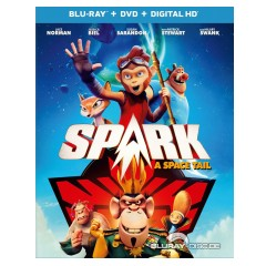 Spark A Space Tail 2016 Blu Ray Dvd Digital Copy Us