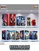 Spider-Man: Daleko od domova 4K - Filmarena Collection #128 WEA Exclusive Edition #4 Steelbook - Maniac's Collector's Box (4K UHD + Blu-ray 3D + Blu-ray + Bonus Blu-ray) (CZ Import ohne dt. Ton) Blu-ray
