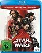 Star Wars: Die letzten Jedi 3D (Blu-ray 3D + Blu-ray + Bonus Blu-ray) (CH Import) Blu-ray