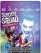 Suicide Squad (2016) (Illustrated Artwork) (Limited Steelbook Edition) Blu-ray