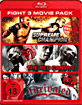Supreme Champion + The Red Canvas + Unrivaled (Fight 3 Movie Pack) Blu-ray