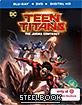 Teen Titans: The Judas Contract - Target Exclusive Steelbook (Blu-ray + DVD + UV Copy) (US Import)