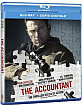 The Accountant (Blu-ray + Digital Copy) (IT Import) Blu-ray