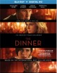The Dinner (2017) (Blu-ray + UV Copy) (Region A - US Import ohne dt. Ton) Blu-ray