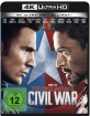 The First Avenger: Civil War 4K (4K UHD + Blu-ray)