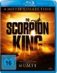 The Scorpion King 1-4 (4-Movie Collection) Blu-ray
