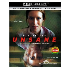 Unsane 2018 4k 4k Uhd Blu Ray Uv Copy Us Import Ohne Dt