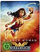 Wonder Woman (2017) (Illustrated Artwork) (Limited Steelbook Edition) Blu-ray