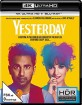 Yesterday (2019) 4K (4K UHD + Blu-ray) Blu-ray