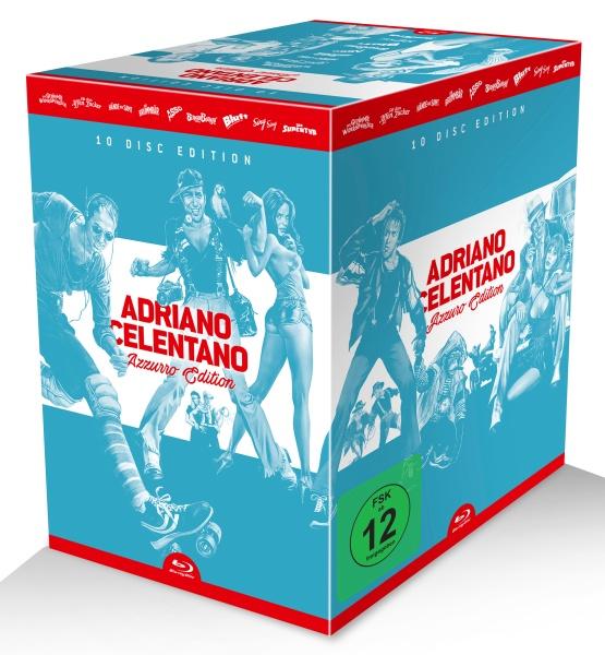 Adriano Celentano Azzurro Edition Im Januar 2018 Mit Drei Blu Ray