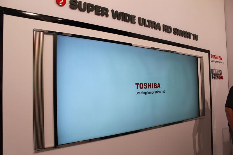 ifa toshiba pr sentiert 4k ultra hd u serie und 21 9 fernseher mit 5k blu ray news. Black Bedroom Furniture Sets. Home Design Ideas