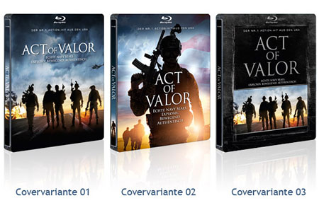 Cover-Varianten Act of Valor