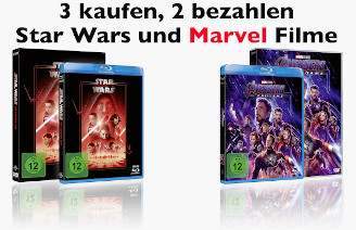 Marvel + Star Wars 3 für 2