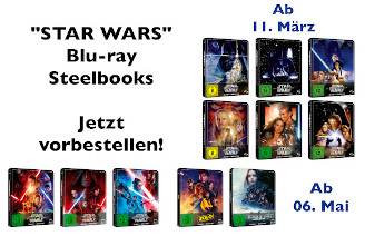 Star Wars Steelbooks