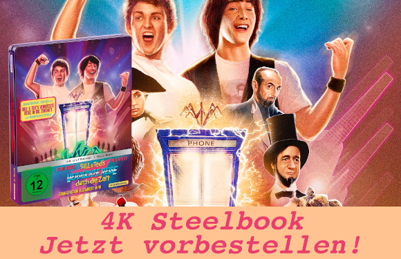 Bill und Ted 4K Steelbook