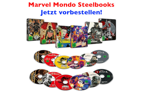 Marvel Mondo Steelbooks