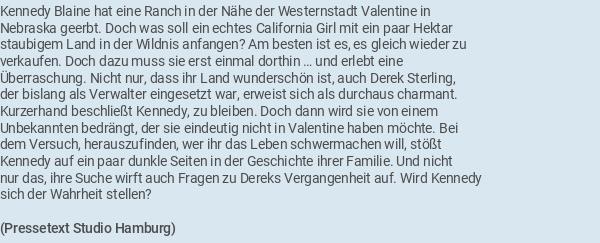 Love Finds You In Valentine In Der Heimat Wohnt Das Glück Blu Ray