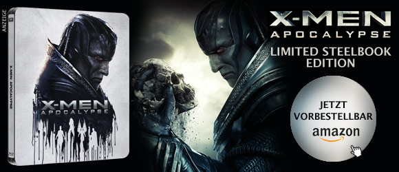 X-Men Apocalypse Steelbook
